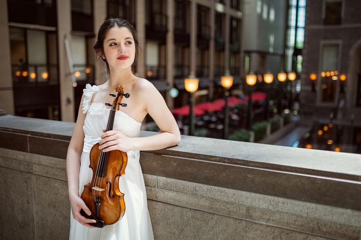 María Dueñas, Violine   Robert Kulek, Klavier