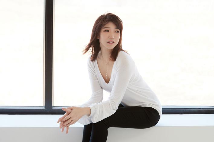 Claire Huangci, Klavier   Minguet Quartett