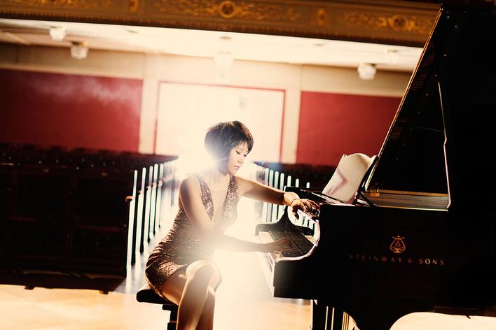 Andreas Ottensamer, Klarinette   Gautier Capuçon, Violoncello   Yuja Wang, Klavier
