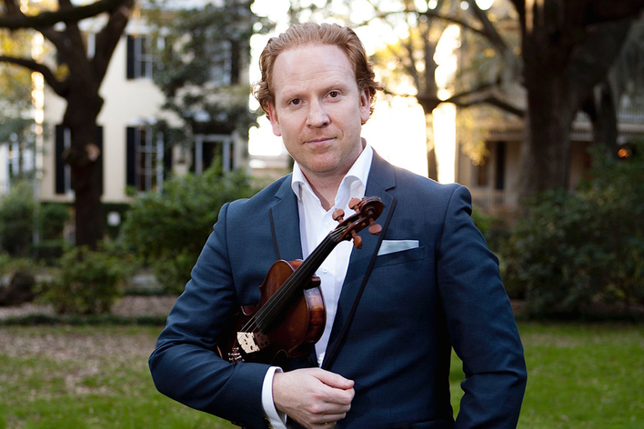 Daniel Hope, Violine   Simon Crawford-Phillips, Klavier
