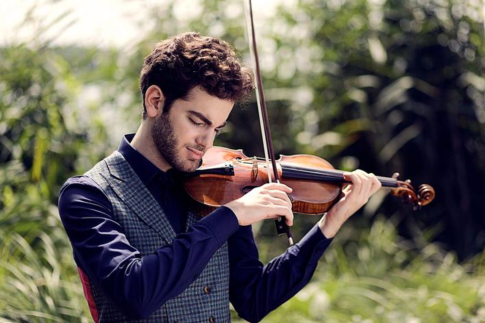 Emmanuel Tjeknavorian, Violine   Daniel Müller-Schott, Violoncello   Anna Vinnitskaja, Klavier
