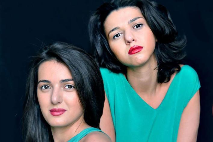 Khatia Buniatishvili, Klavier   Gvantsa Buniatishvili, Klavier
